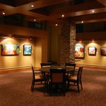 Gallery room in restaurant area