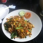 mie goreng at D'Basket !