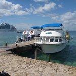 Aqua World's scuba boat