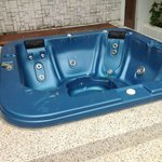 Outdoor and indoor jacuzzis out of service