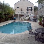 Lamothe House pool