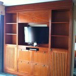 entertainment center living room