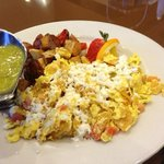 Migas at breakfast