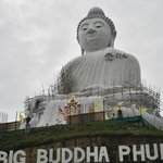 BIg Buddha Phuket, still under construction