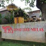 Front of Luwak Ubud Villas