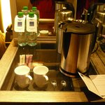 Complimentary bottled water and coffee/tea-making facilities