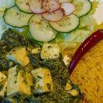 """RADHARANE"" vegetarian restaurant, Laisves al.40, Kaunas, Lithuania"