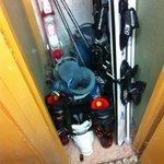 casier ski