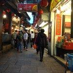 Jiufen old streets