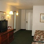 Entryway, older tv
