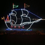 Ship in the Festival of Lights