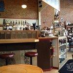 Beatnik style coffee house