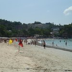 Kata Beach--gradual slope to deeper water