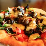 The Roasted Maui Vegetable Pizza