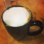 A Capuccino at Harvest Caffe