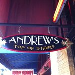 Andrew's sign