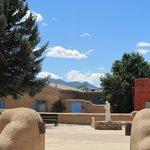 view from ranchos de taos