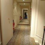 Corridor, mirrors