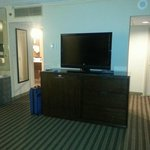 Large HDTV in King Suite