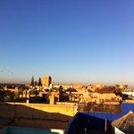La vue du toit
