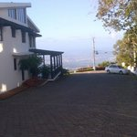 Front drive of Hotel