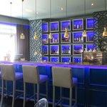 Blue bar