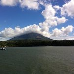 ometepe from the ferry