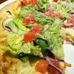 Spicy BLT Pizza