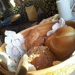cestino di panini misti a colazione!