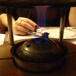fondue burner