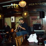 Live music and decor of Waxy's