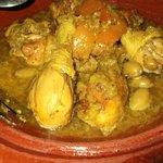 Chicken tajine with lemons - National dish