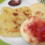 Morrocan pancakes....yum