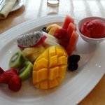 Fresh Fruit and Sorbet