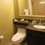 Vanity/toilet