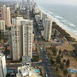 Looking towards Surfers Paradise