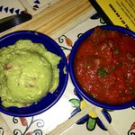 Guacamole and Salsa, our new Christmas Eve tradition