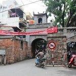 ハノイ旧市街の門