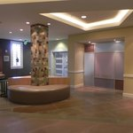 Central lobby near elevator and breakfast room