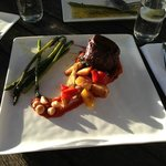 The Eye Fillet of Beef plus Side of Asparagus ($39+$8)
