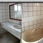 Old tub, WC needs handy jet spray