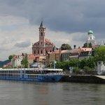 Passau vom Inn aus