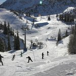 Some of the available ski runs from Vogel, some accessible by other ski lifts