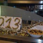 buffet des 1000 mignardises du nouvel an