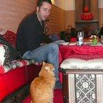 Avec Max, le pacha ( un peu voleur...) du Riad