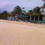 Beach in front of Azure