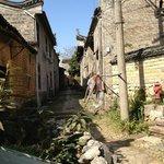 Village backstreets.