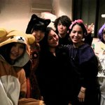 Halloween party with Kyoto Hana Hostel staffs 2012