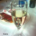 more liquids to start the new year - Cava - at the end