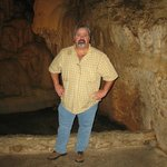 Me in the Natural Bridges Cavern...
